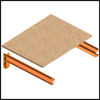 Longspan Racking Chipboard Shelving (Assorted Sizes)