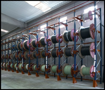 Coil Warehouse Racking