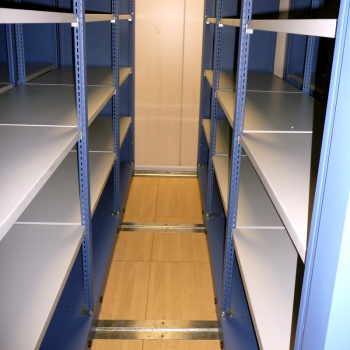 Longspan Racking - Mobile Shelving