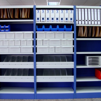 Longspan Racking - Clip Storage Shelving