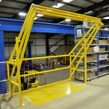 Picture of Pallet Safety Gates