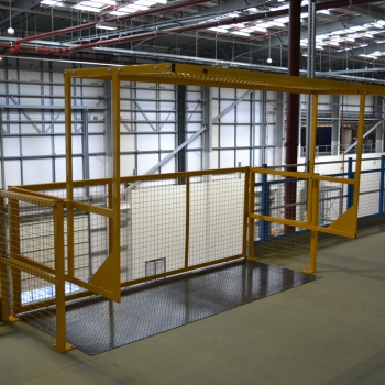 Additional Image of Pallet Safety Gates